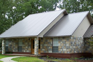Charcoal Grey Metal Roof